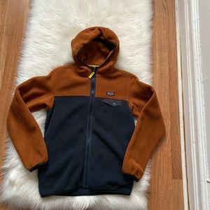 Patagonia Boys Hoodie Fleece Jacket Size 10